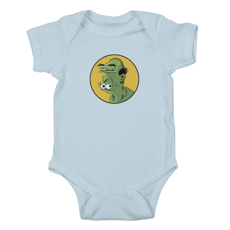 Weirdo Kids Baby Bodysuit by Zerostreet's Artist Shop