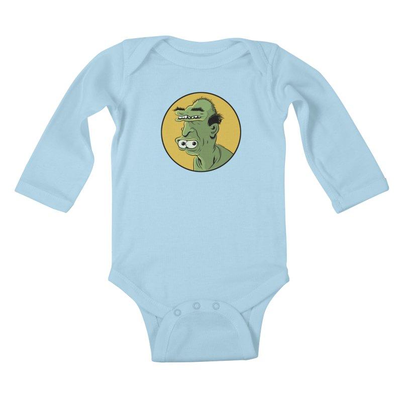 Weirdo Kids Baby Longsleeve Bodysuit by Zerostreet's Artist Shop
