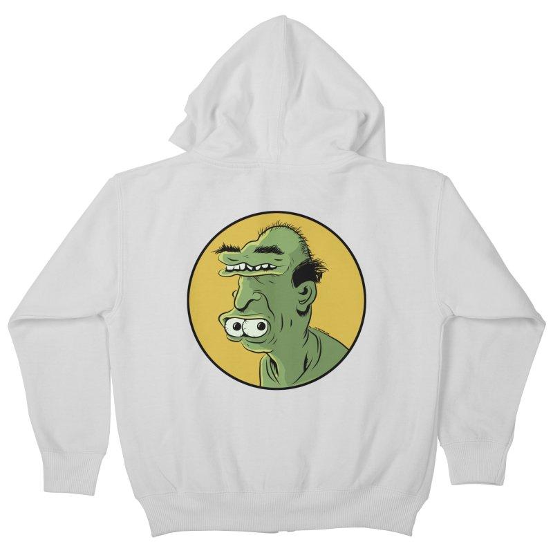 Weirdo Kids Zip-Up Hoody by Zerostreet's Artist Shop