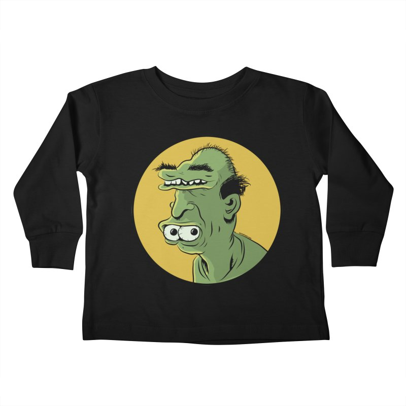 Weirdo Kids Toddler Longsleeve T-Shirt by Zerostreet's Artist Shop