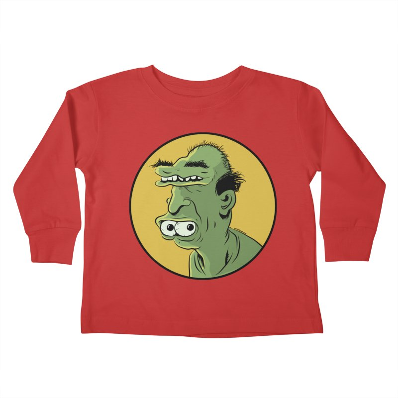 Weirdo Kids Toddler Longsleeve T-Shirt by Zerostreet's Artist Shop