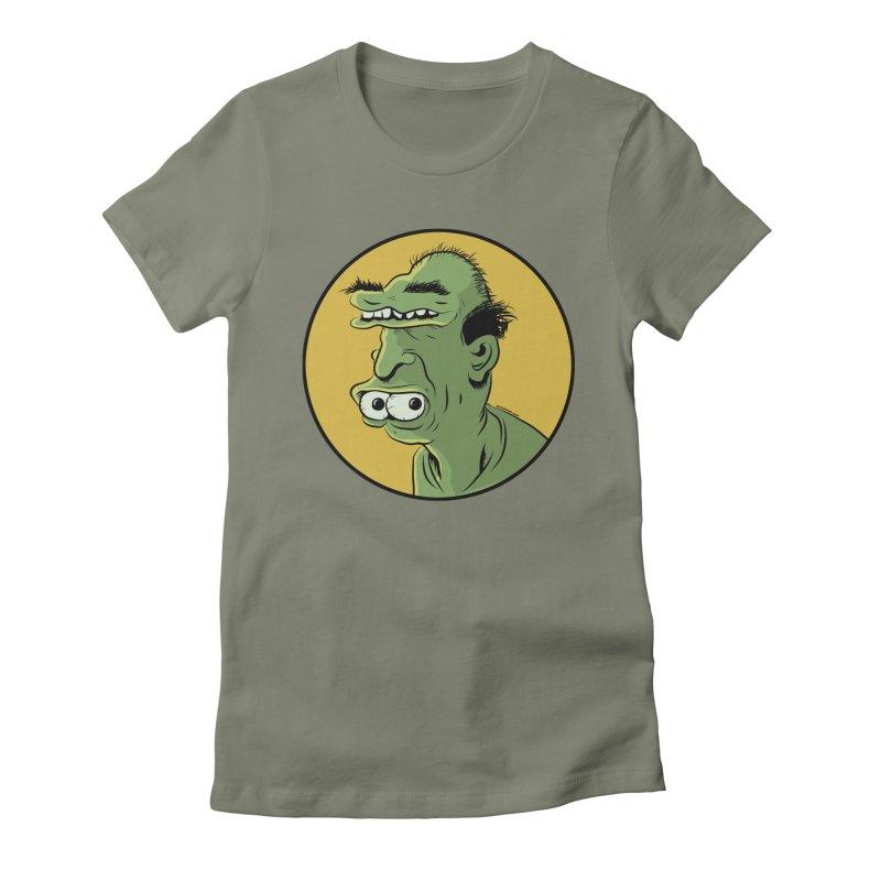 Weirdo Women's Fitted T-Shirt by Zerostreet's Artist Shop