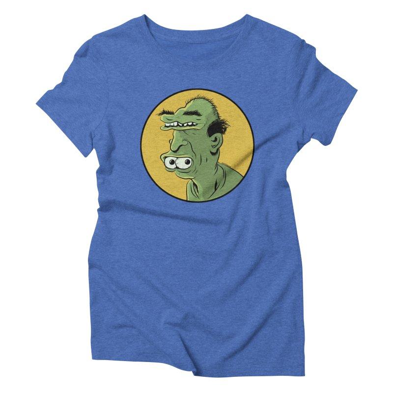 Weirdo Women's Triblend T-Shirt by Zerostreet's Artist Shop