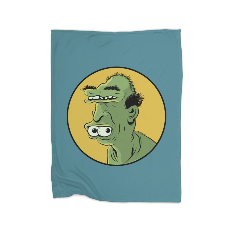 Weirdo Home Fleece Blanket by Zerostreet's Artist Shop