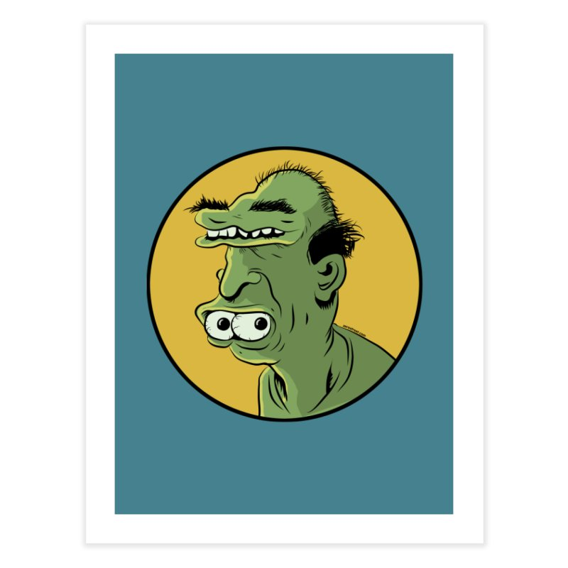 Weirdo Home Fine Art Print by Zerostreet's Artist Shop
