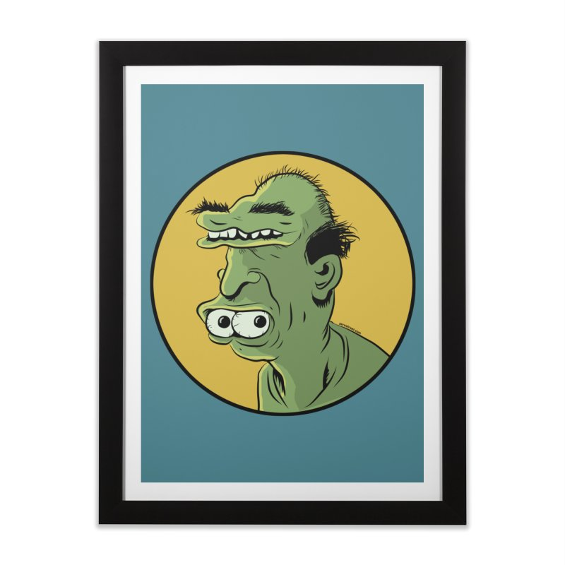 Weirdo Home Framed Fine Art Print by Zerostreet's Artist Shop