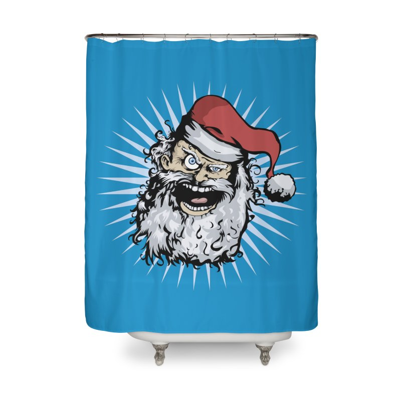 Pissed Santa Home Shower Curtain by Zerostreet's Artist Shop