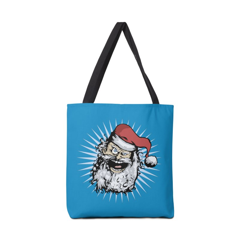 Pissed Santa Accessories Bag by Zerostreet's Artist Shop