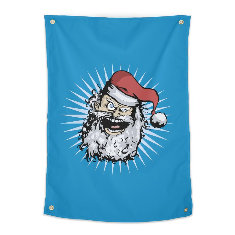 Pissed Santa Home Tapestry by Zerostreet's Artist Shop