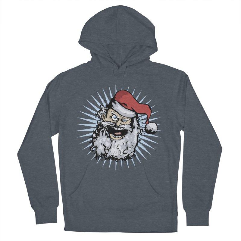 Pissed Santa Women's Pullover Hoody by Zerostreet's Artist Shop