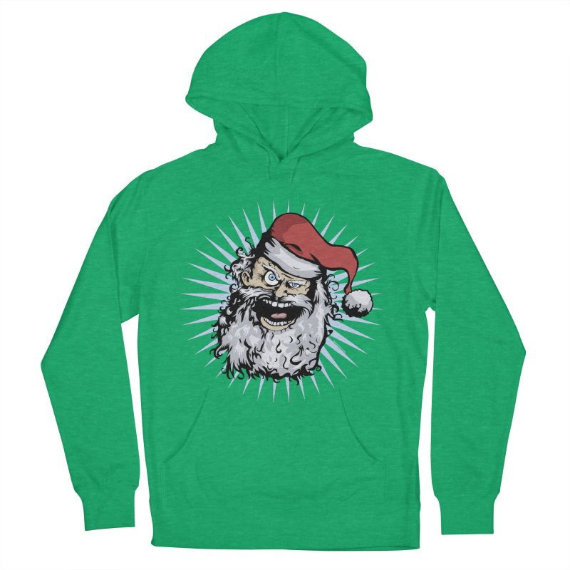 Pissed Santa Men's Pullover Hoody by Zerostreet's Artist Shop