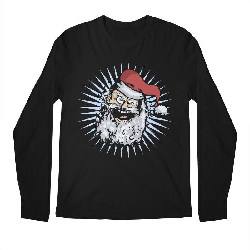 Pissed Santa Men's Longsleeve T-Shirt by Zerostreet's Artist Shop