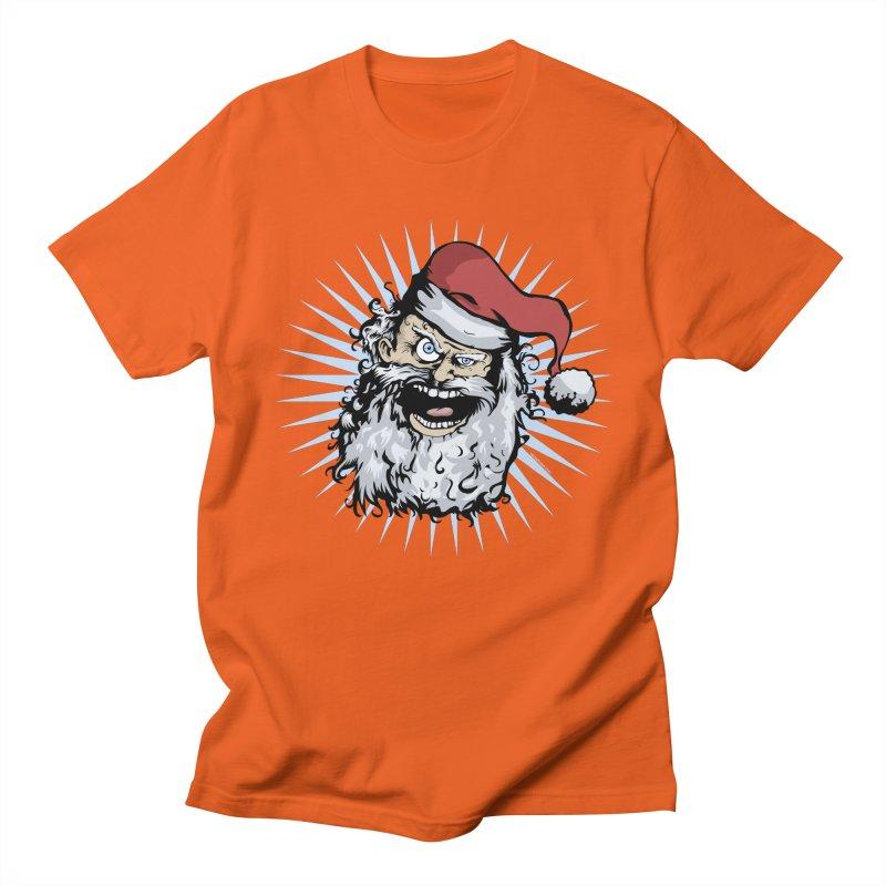 Pissed Santa Women's Unisex T-Shirt by Zerostreet's Artist Shop