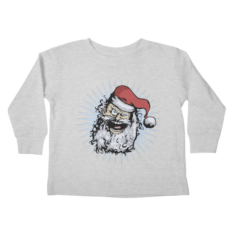 Pissed Santa Kids Toddler Longsleeve T-Shirt by Zerostreet's Artist Shop
