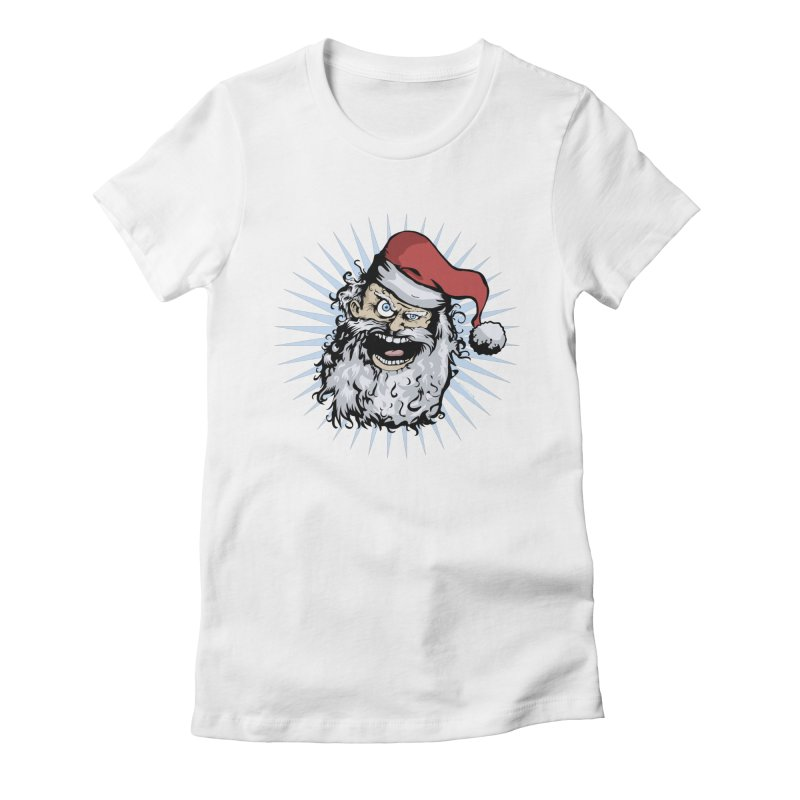 Pissed Santa Women's  by Zerostreet's Artist Shop