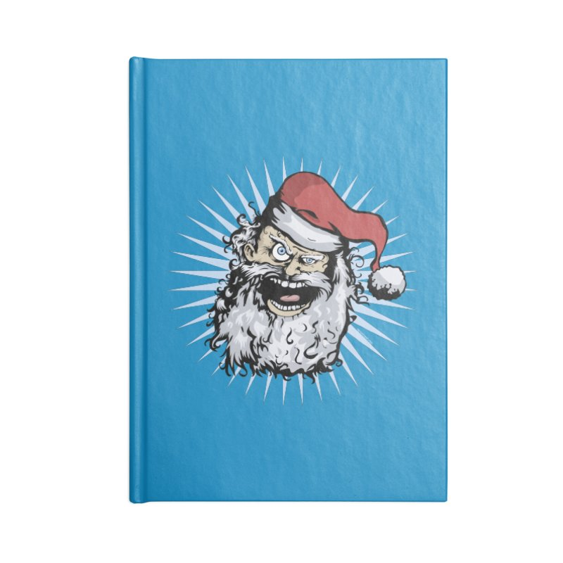 Pissed Santa Accessories Notebook by Zerostreet's Artist Shop