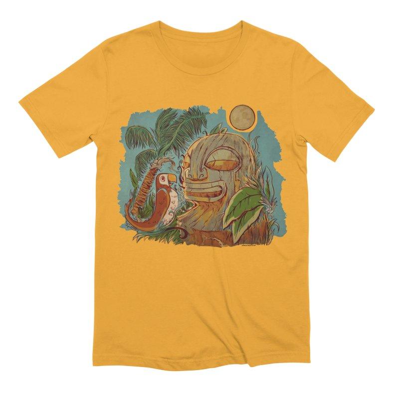 Island Chatter Men's Extra Soft T-Shirt by Zerostreet's Artist Shop