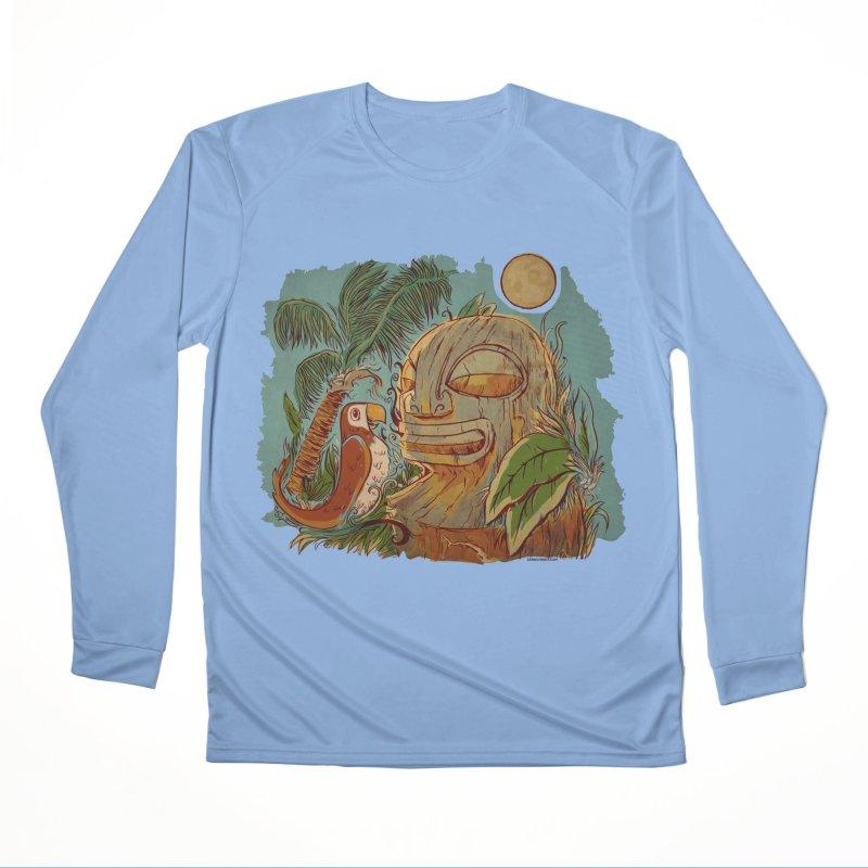 Island Chatter Men's Performance Longsleeve T-Shirt by Zerostreet's Artist Shop