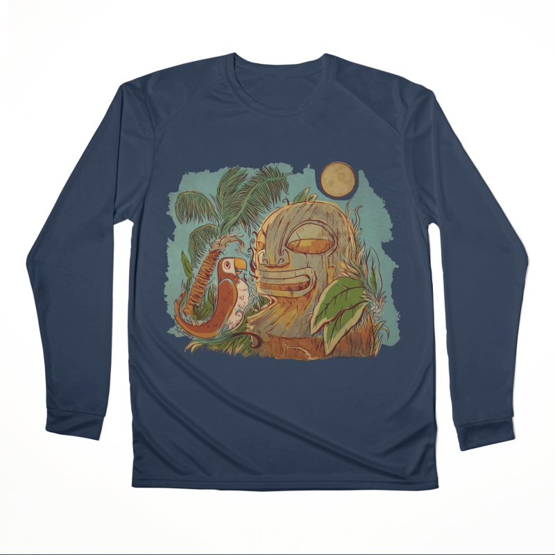 Island Chatter Women's Performance Unisex Longsleeve T-Shirt by Zerostreet's Artist Shop