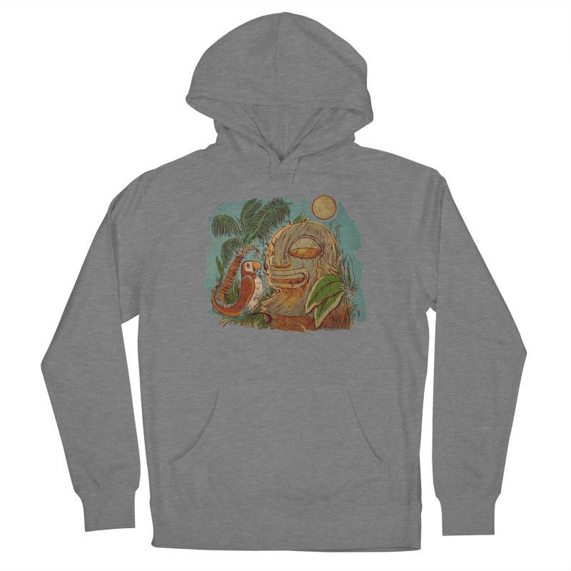 Island Chatter Women's French Terry Pullover Hoody by Zerostreet's Artist Shop