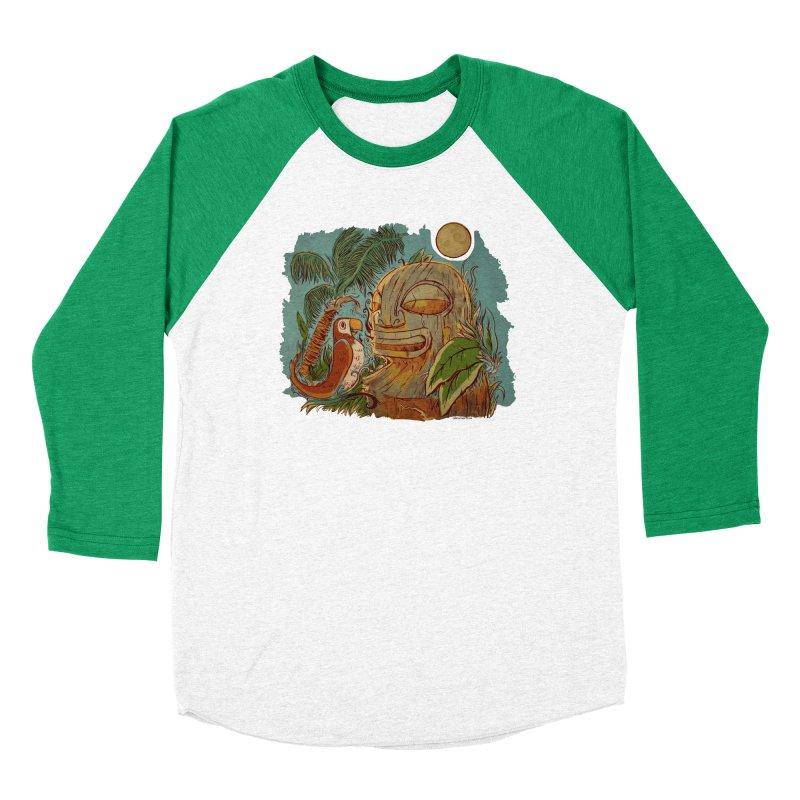 Island Chatter Women's Baseball Triblend Longsleeve T-Shirt by Zerostreet's Artist Shop