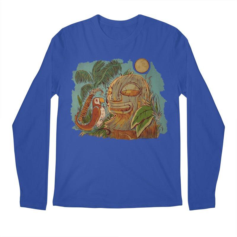 Island Chatter Men's Regular Longsleeve T-Shirt by Zerostreet's Artist Shop