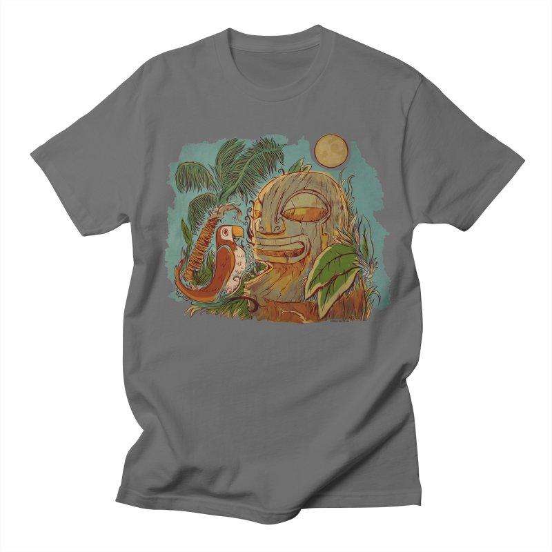 Island Chatter Men's T-Shirt by Zerostreet's Artist Shop