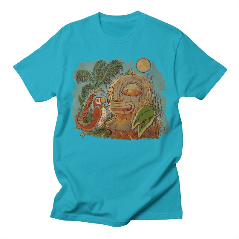 Island Chatter Men's Regular T-Shirt by Zerostreet's Artist Shop