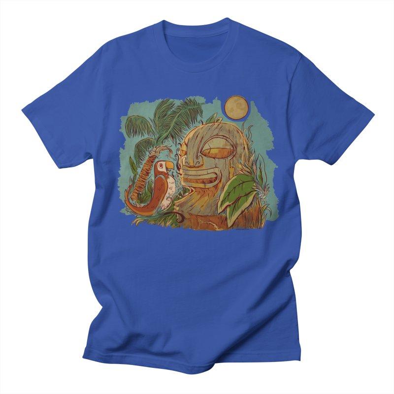 Island Chatter Women's Regular Unisex T-Shirt by Zerostreet's Artist Shop