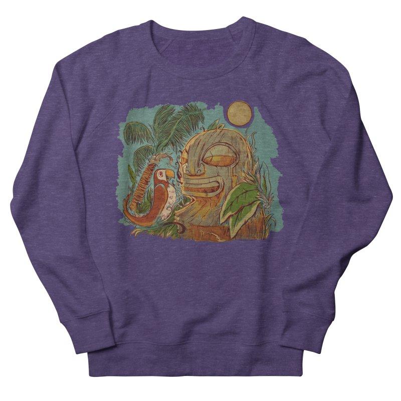 Island Chatter Men's French Terry Sweatshirt by Zerostreet's Artist Shop