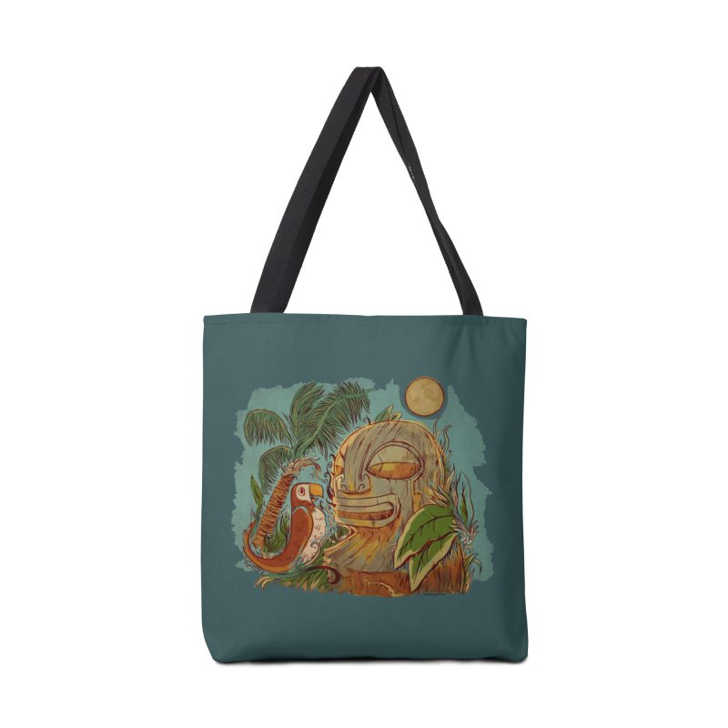 Island Chatter Accessories Tote Bag Bag by Zerostreet's Artist Shop