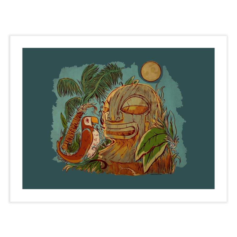 Island Chatter Home Fine Art Print by Zerostreet's Artist Shop