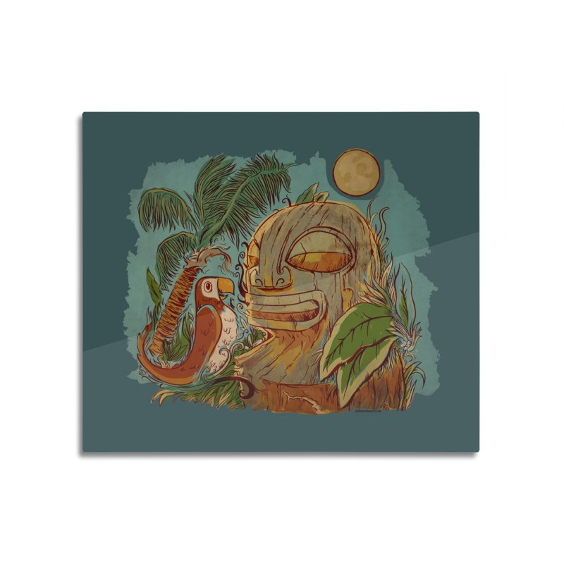 Island Chatter Home Mounted Acrylic Print by Zerostreet's Artist Shop