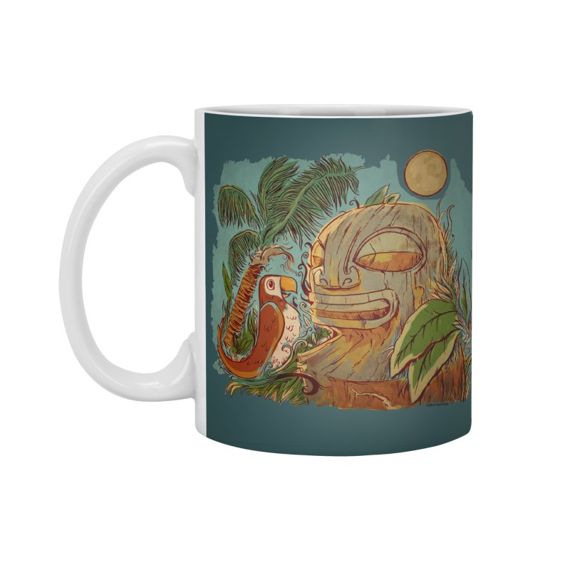 Island Chatter Accessories Standard Mug by Zerostreet's Artist Shop