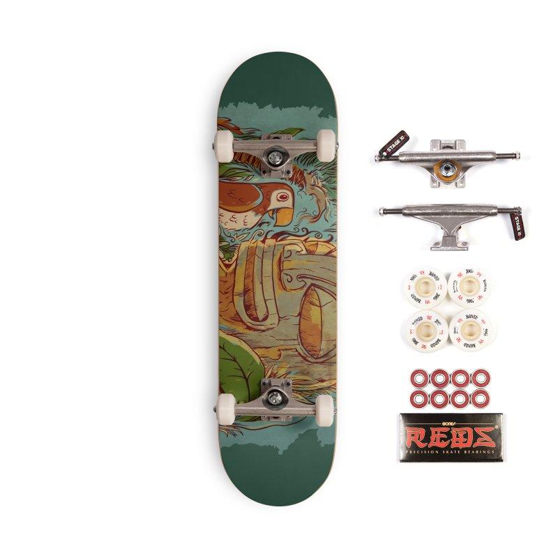 Island Chatter Accessories Complete - Pro Skateboard by Zerostreet's Artist Shop