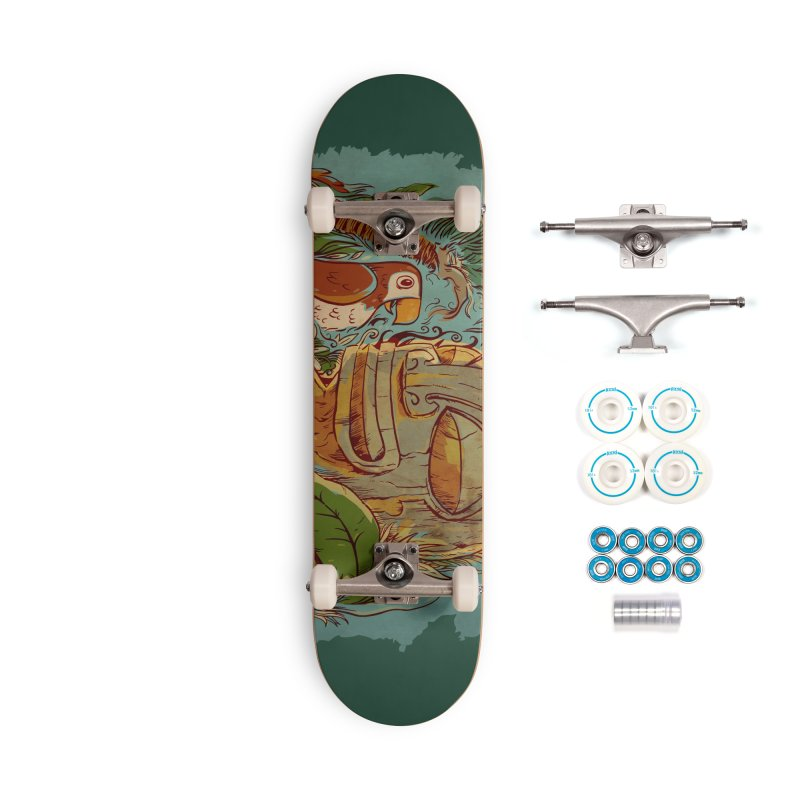 Island Chatter Accessories Complete - Basic Skateboard by Zerostreet's Artist Shop