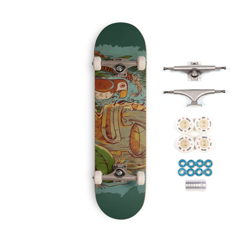 Island Chatter Accessories Complete - Premium Skateboard by Zerostreet's Artist Shop