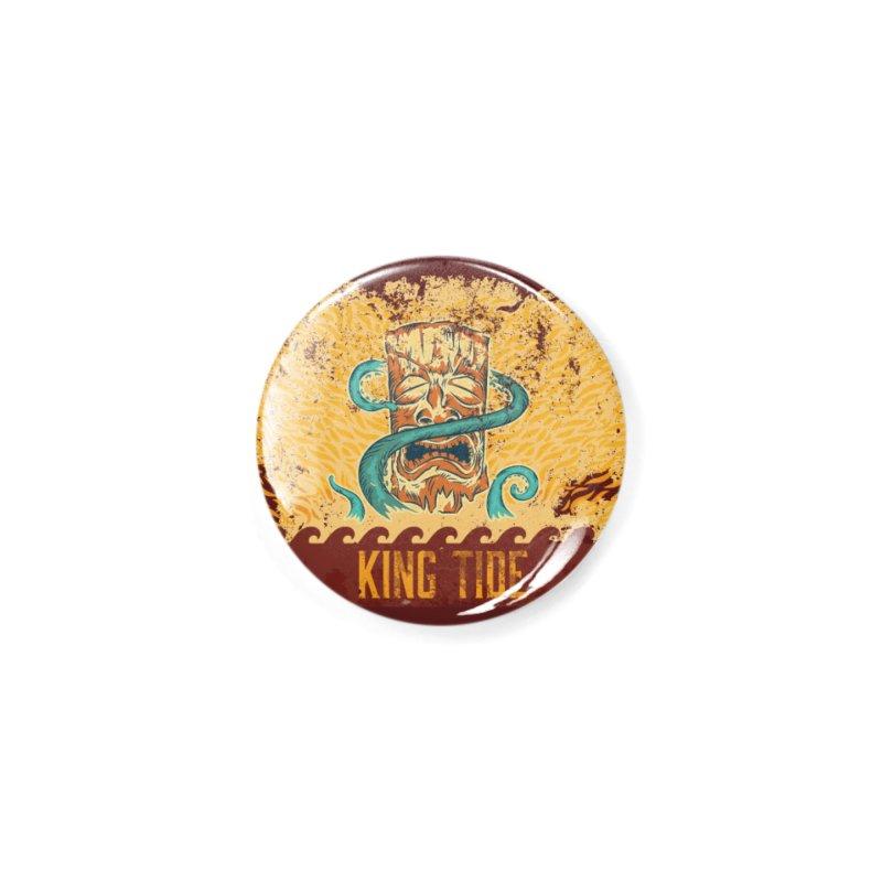 King Tide Accessories Button by Zerostreet's Artist Shop