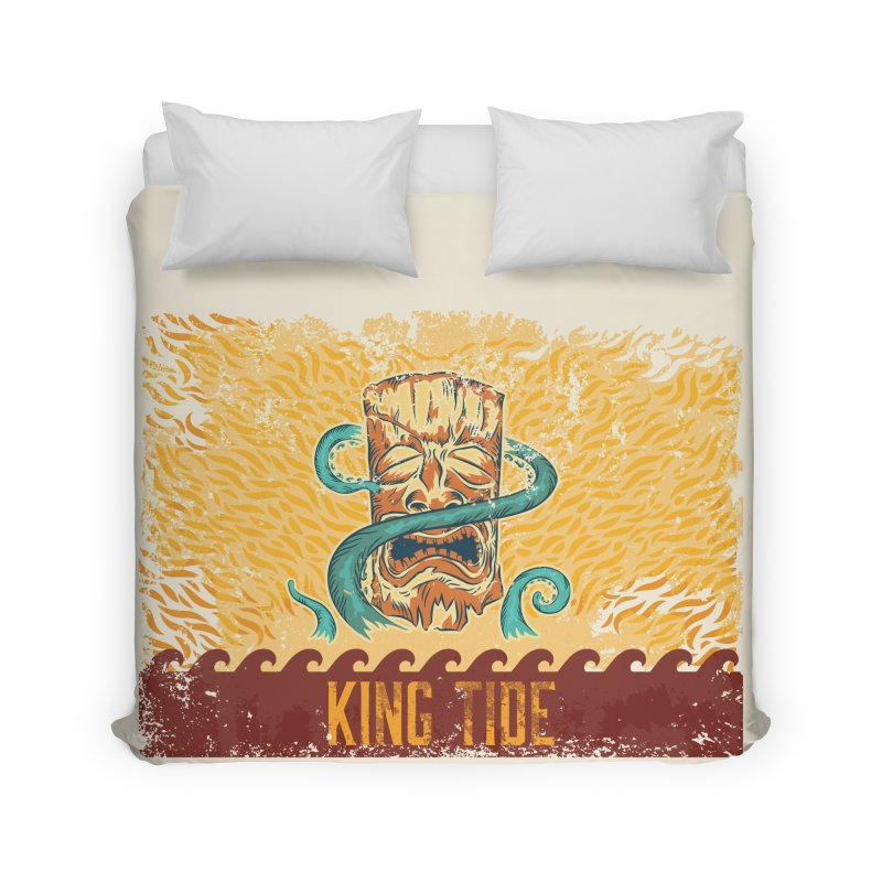 King Tide Home Duvet by Zerostreet's Artist Shop