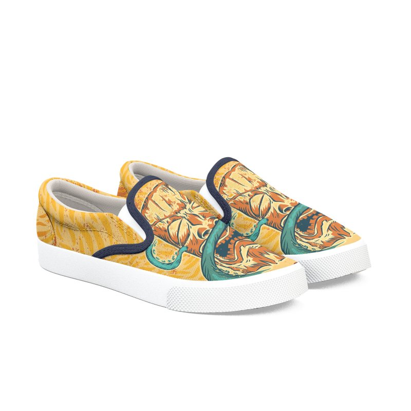 King Tide Women's Slip-On Shoes by Zerostreet's Artist Shop