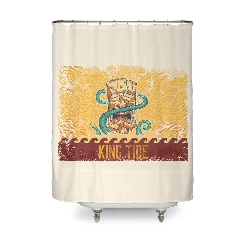 King Tide Home Shower Curtain by Zerostreet's Artist Shop