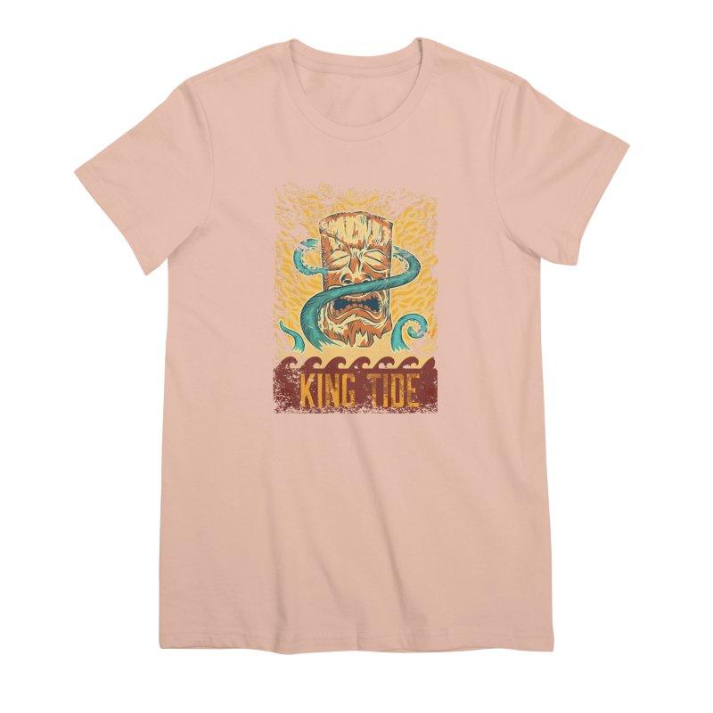 King Tide Women's Premium T-Shirt by Zerostreet's Artist Shop