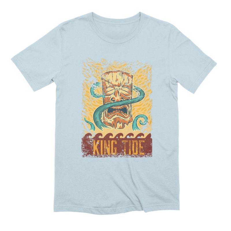King Tide Men's Extra Soft T-Shirt by Zerostreet's Artist Shop