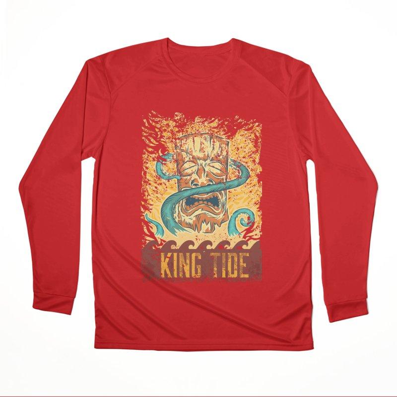 King Tide Men's Performance Longsleeve T-Shirt by Zerostreet's Artist Shop