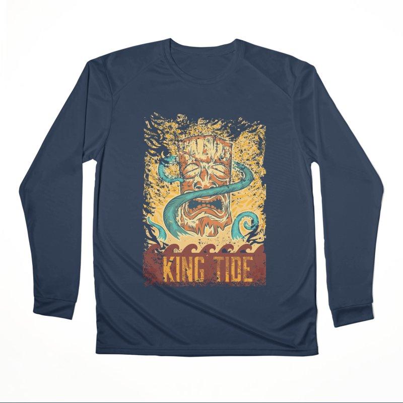 King Tide Women's Performance Unisex Longsleeve T-Shirt by Zerostreet's Artist Shop