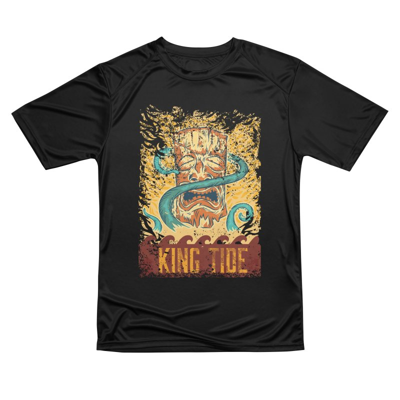 King Tide Women's Performance Unisex T-Shirt by Zerostreet's Artist Shop