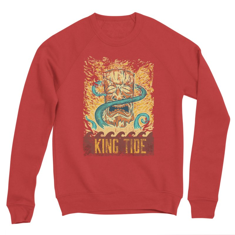 King Tide Women's Sponge Fleece Sweatshirt by Zerostreet's Artist Shop