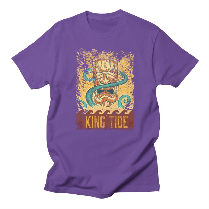 King Tide Men's Regular T-Shirt by Zerostreet's Artist Shop