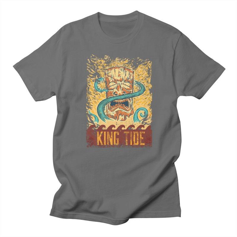 King Tide Men's T-Shirt by Zerostreet's Artist Shop