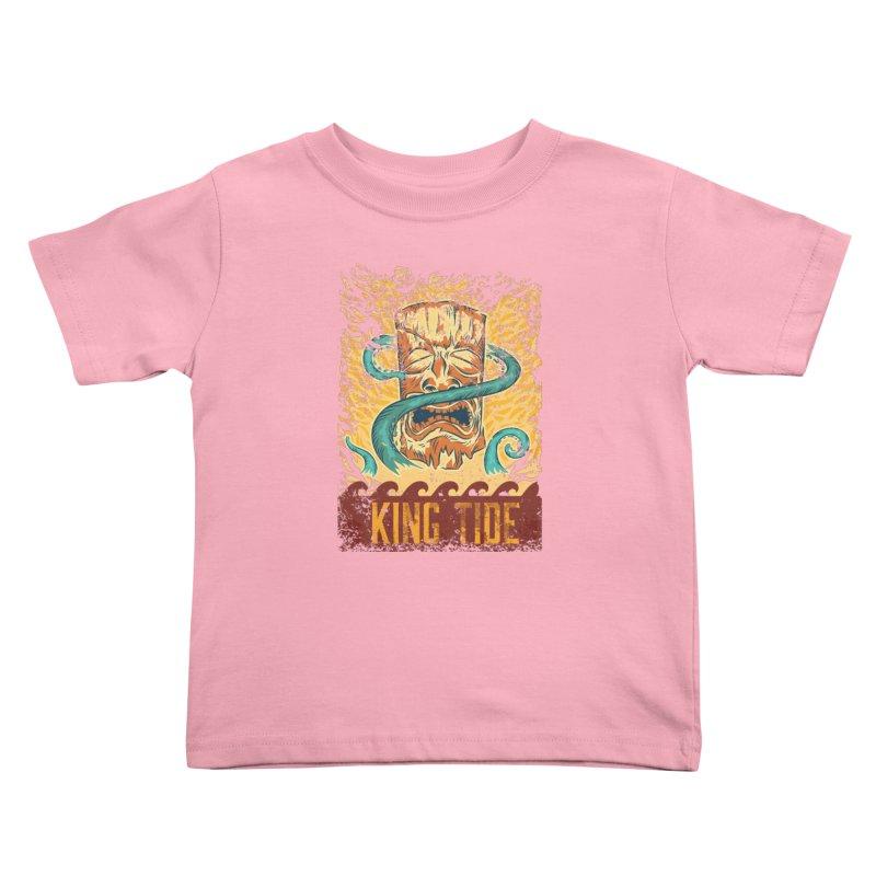 King Tide Kids Toddler T-Shirt by Zerostreet's Artist Shop